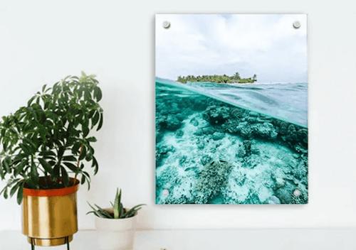 acrylic canvas print 8x10